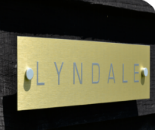 Brass Effect signs