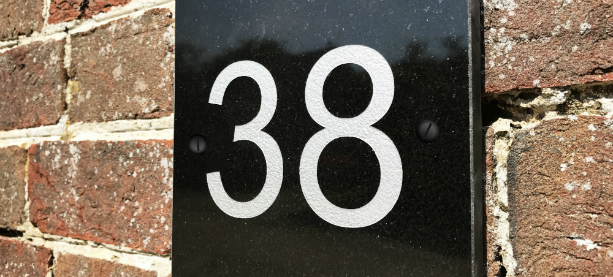 Engraved Granite house signs